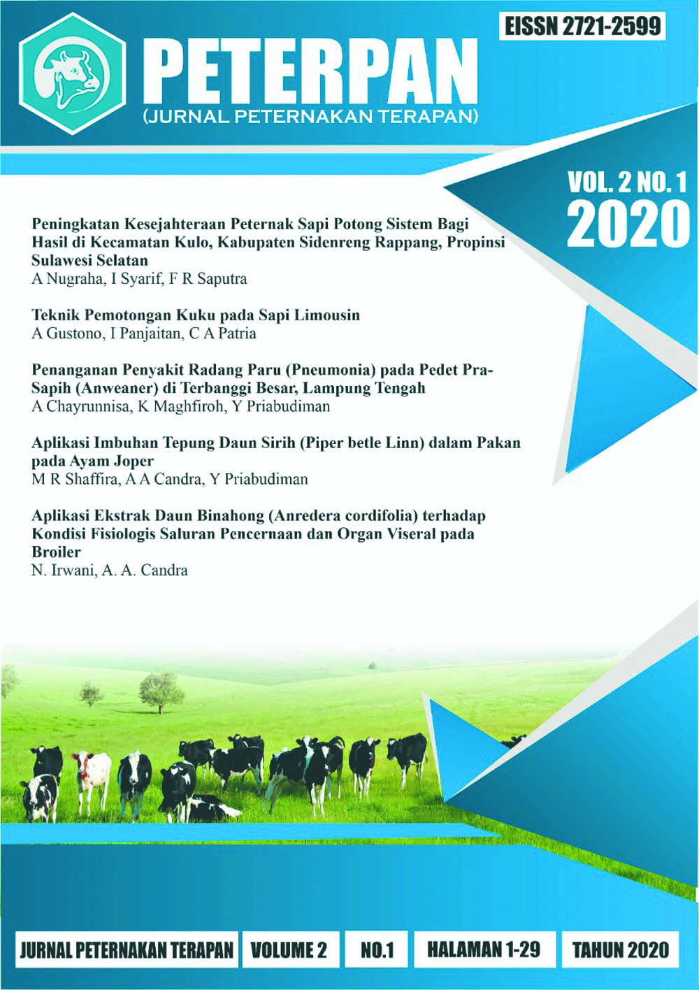 View Vol. 2 No. 1 (2020): Indonesia